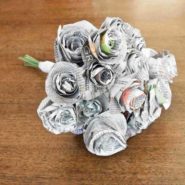 art and craft ideas with newspaper Luxury 26 Creative Newspaper Crafts