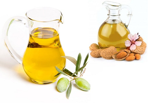 Olive Oil and Almond Oil For Dandruff