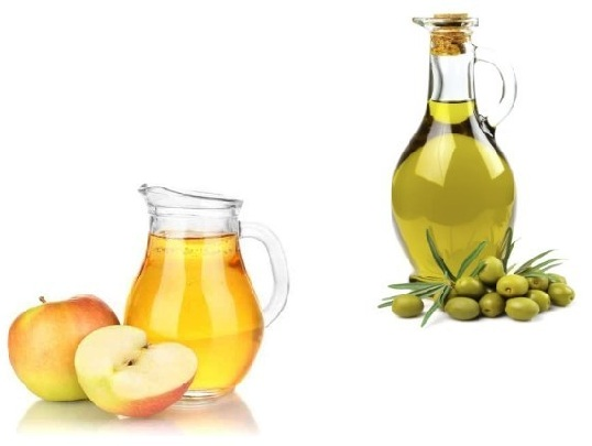Acv and olive oil for dandruff