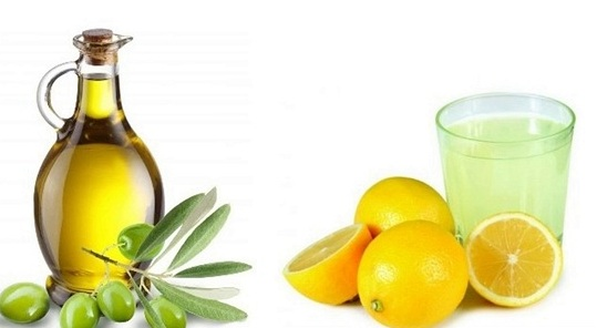 lemon and olive oil for dandruff