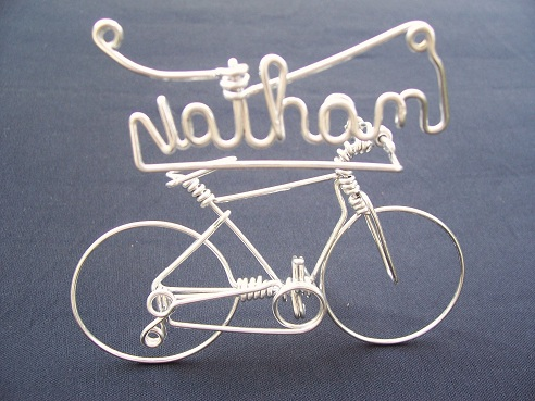 Personalized Handmade Cycle for Children