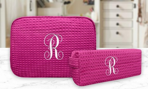 Personalized Makeup Kit Bag for Her
