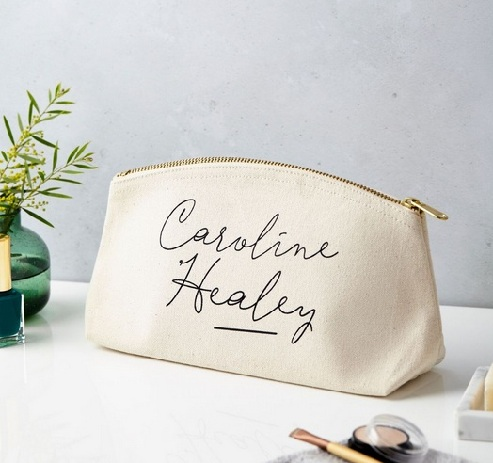 Personalized Make up Pouch