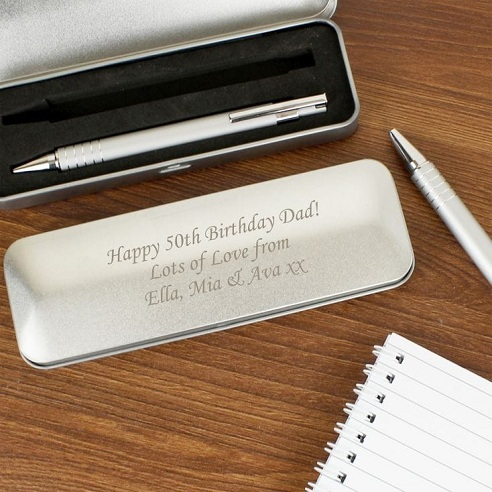 Personalized Pen with Box