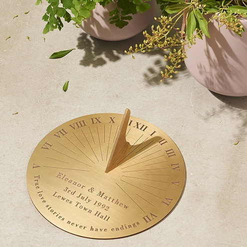 Personalized Sundial