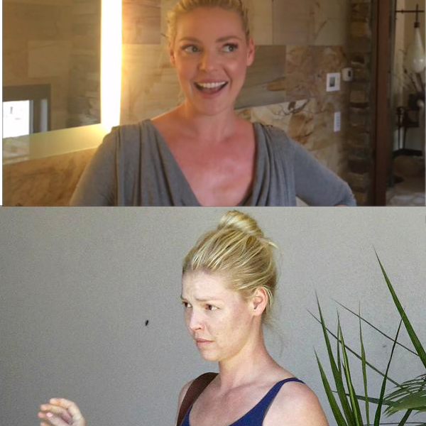 Pictures of Katherina Heigl Without Makeup