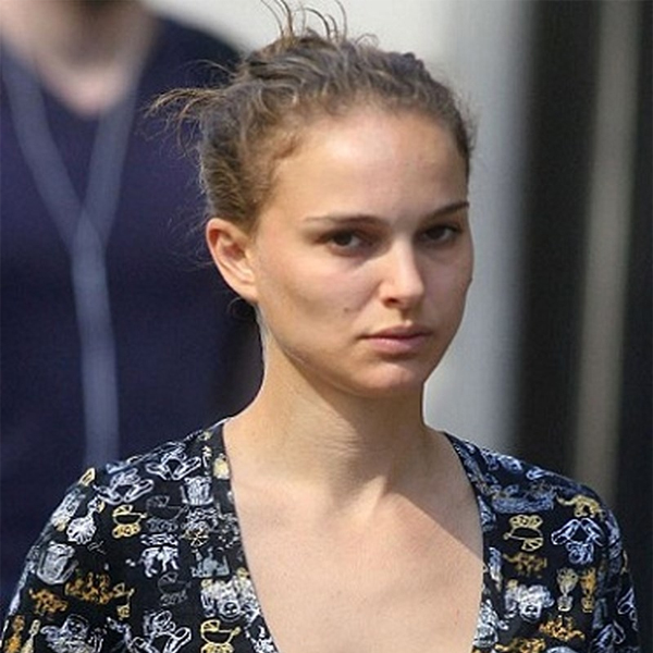 Natalie Portman without Makeup