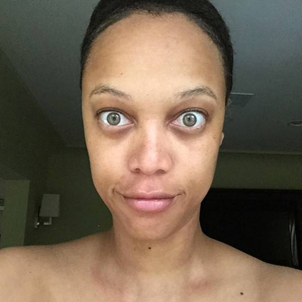 Tyra Banks Without Makeup