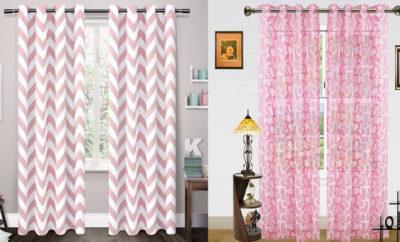 Pink Curtain Designs