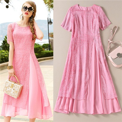15 Attractive Pink Frocks for Women in Fashion | Styles At ...
