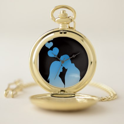 Pocket Watch Valentine's Day Gift