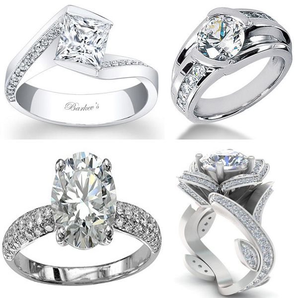 Platinum Diamond Rings