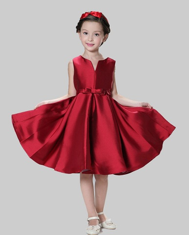 029fa59c6302 15 Stylish and Beautiful Red Frocks with Images