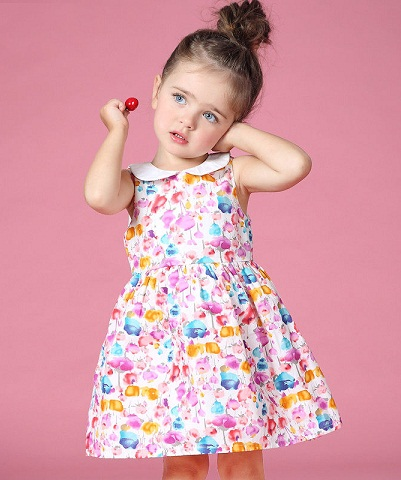 0da95d81c48a Frocks for 2 Years Old Girl - Latest and Pretty Designs