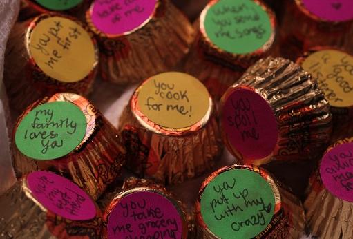 Quoted Chocolates
