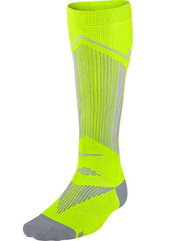 Recycelted Polyester Comp Running Sock
