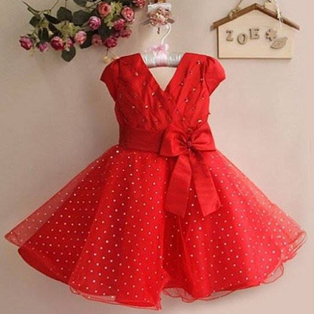 de878e484 15 Stylish and Beautiful Red Frocks with Images