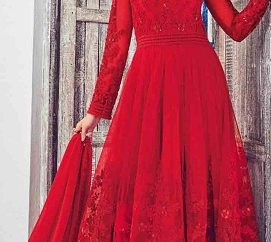 15 Stylish And Beautiful Red Frocks With Images Styles