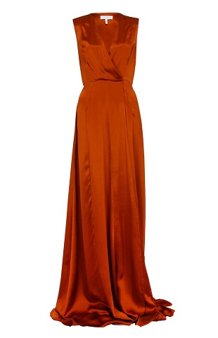 9 Beautiful And Stylish Orange Dress Designs For Women