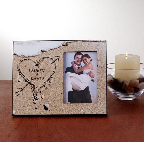 Sand Frame for Valentine's Gift