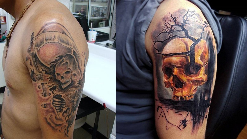 62d696900 9 Best Scary Tattoos Ideas, Designs And Images | Styles At Life