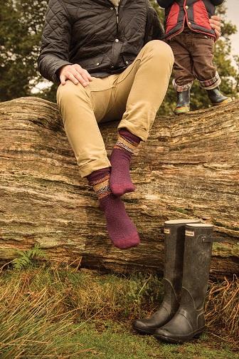Scott-Nichol Blickling Wool Men's Sock brands