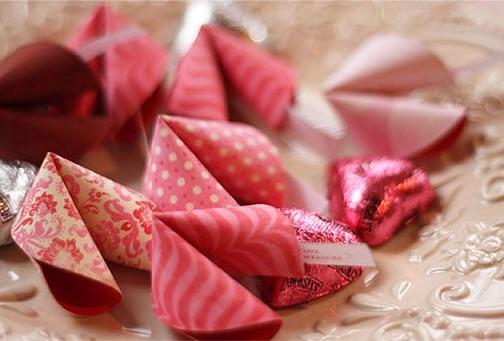 Secret Message Puffs for Valentine's Gift