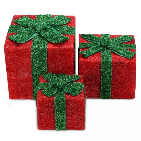 Sequin Gift Box for Christmas