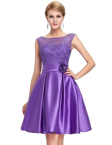 e61173c2fc8 This short satin frock is one of the best dresses to don in for your party.  It has a net bodice lined with satin material. It is sleeveless with a boat  neck ...