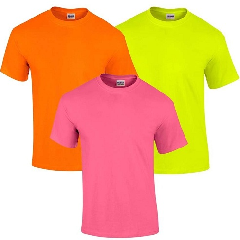 3eeeb22a74c7be Top 9 Different Types of Neon T-Shirt Designs | Styles At Life