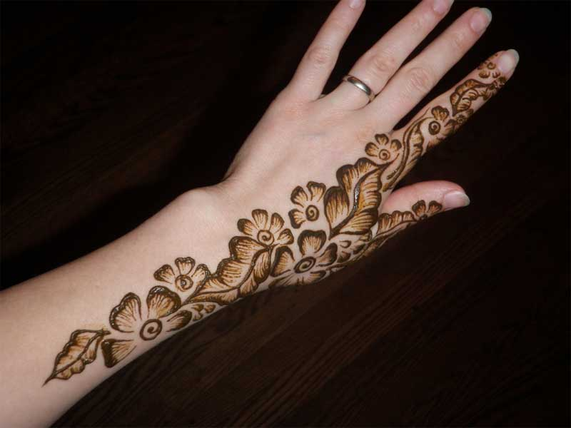 bail mehndi designs