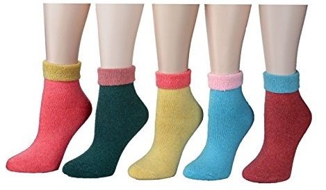 Simple Thermal Ankle Socks