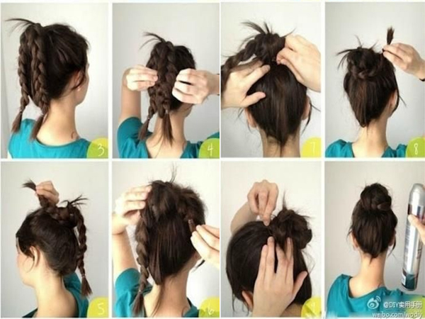 Swell 50 Simple And Easy Hairstyles For Women To Make It 5 10 Minutes Schematic Wiring Diagrams Amerangerunnerswayorg
