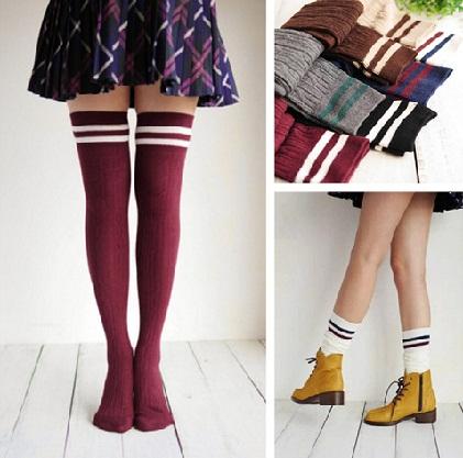 Simple Girls School Socks