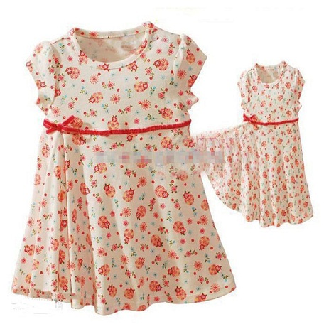 621e16cc28a5 15 Beautiful Small Frocks for Women and Baby Girl   Styles At Life