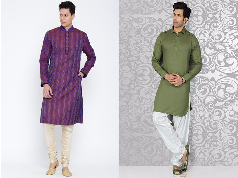 Slim fit kurta pajama