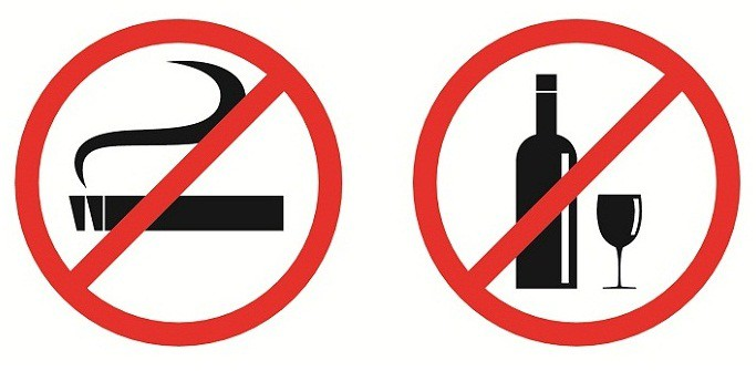Avoid Smoking & Drinking