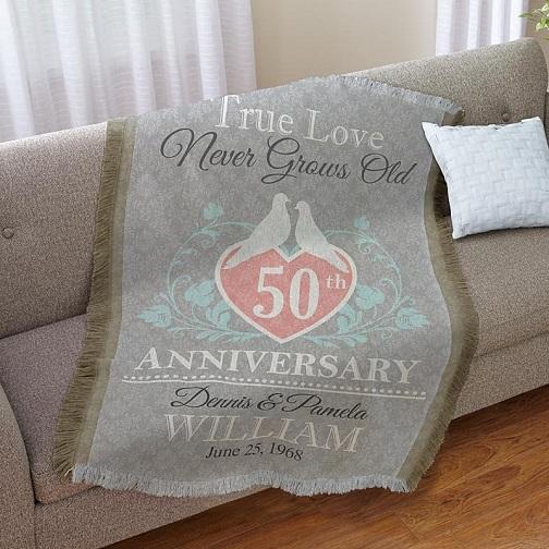 Sofa Throw Gift For Couple