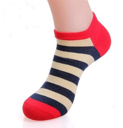 Striped Short Socks