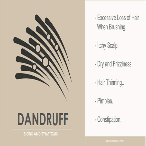 Signs and Symptoms Of Dandruff