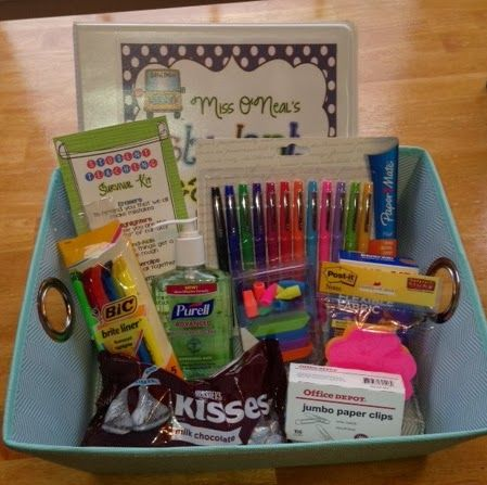 Teacher Appreciation Basket