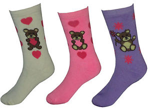 Teddy Bear Thermal Sock