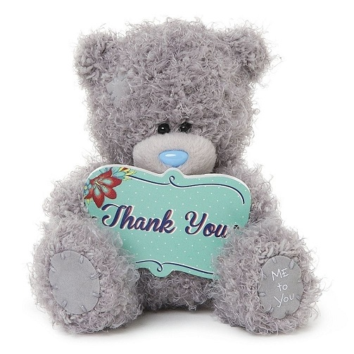 Teddy Bear Thank You Gift