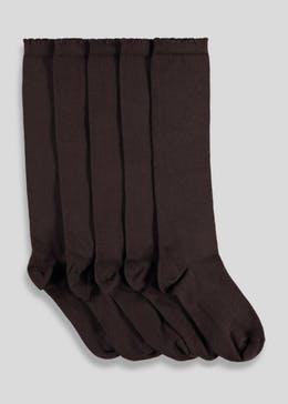 Textured School Socks