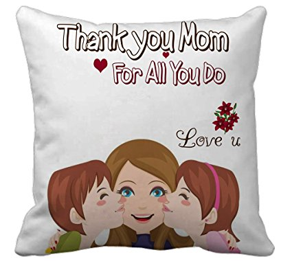 Thank You Printed Cushion Gift