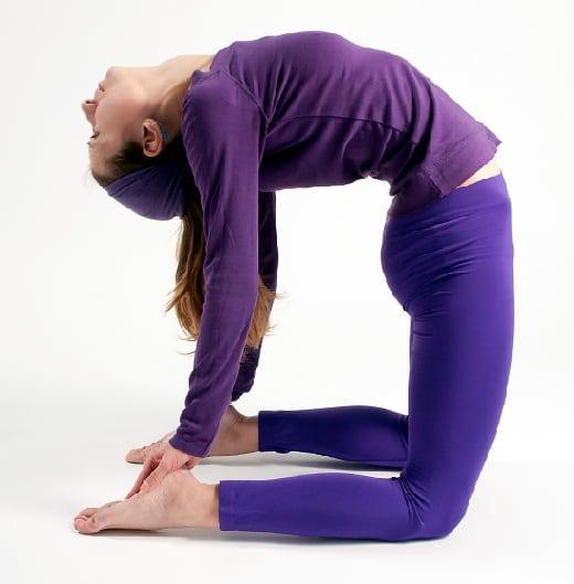 Camel Pose om yoga