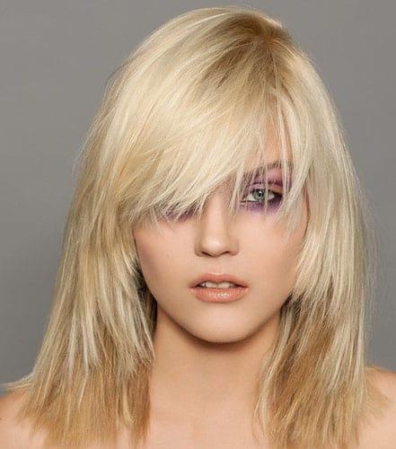 Medium Layered Hairstyles 7