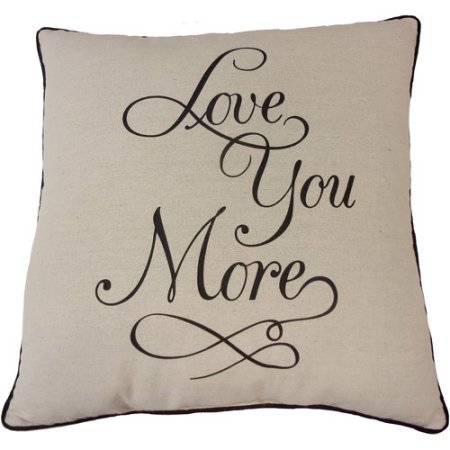 Throw Pillow Valentine's Gift