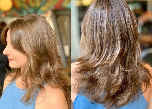 9 Classy And Popular Medium Layered Hairstyles For Women