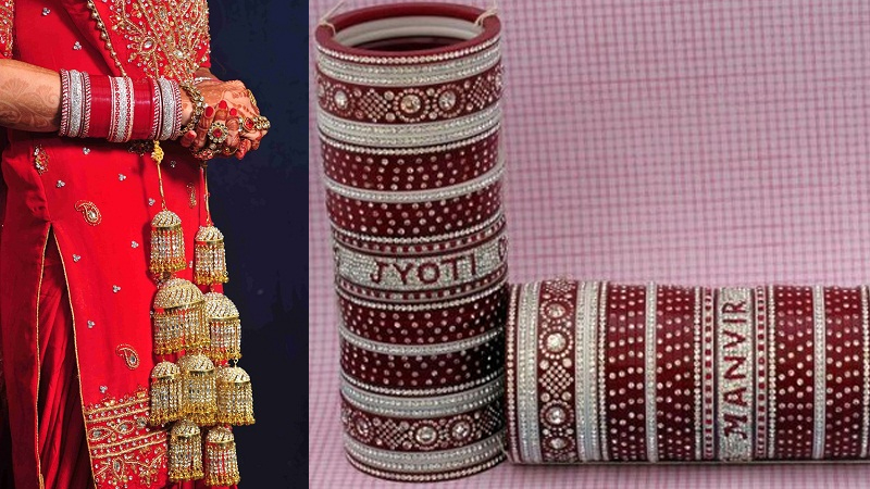 Traditional Punjabi Wedding Bangles for Bride